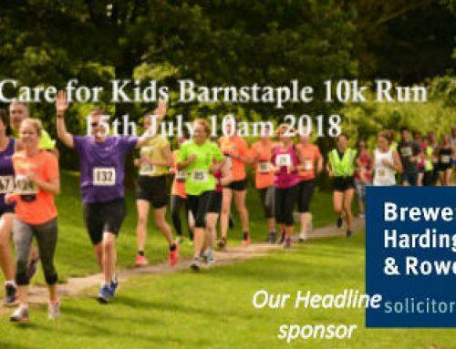 Care for Kids Barnstaple 10K News