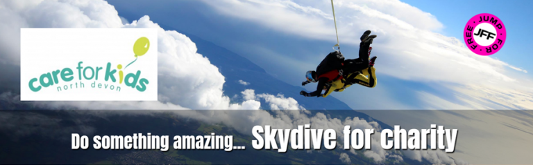 SKY DIVE for Care for Kids