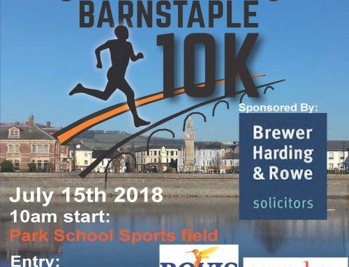 Our Care for Kids Barnstaple 10K sponsors