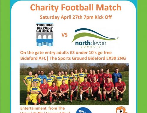 Charity Football Match 27th April 2019