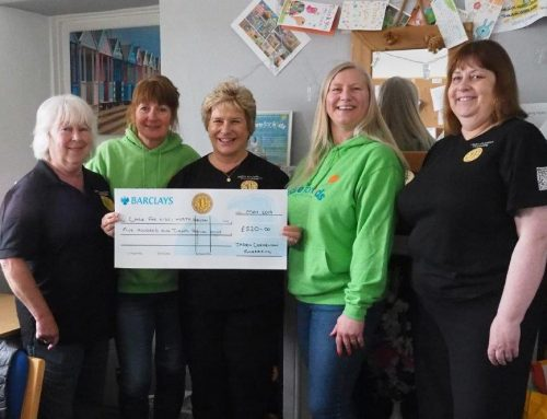 Care for Kids North Devon receives £520 cheque!