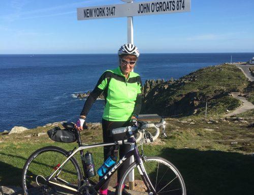 Jacky's 1,000 mile challenge