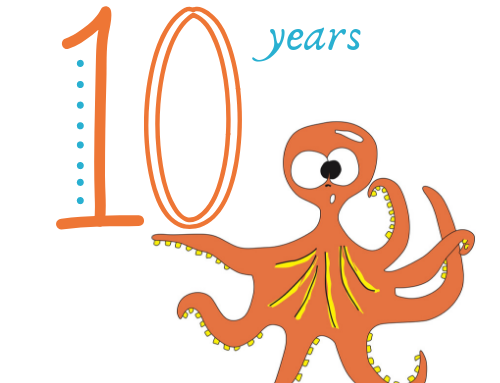 Birthday time – we're celebrating 10 years!