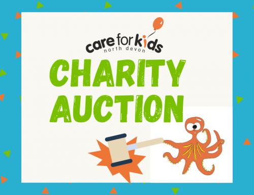 Care for Kids charity auctions this month