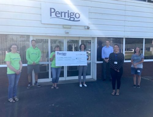 Perrigo Charitable Foundation has donated £20,000 to our charity!