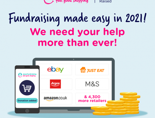 Fundraise while you shop with easyfundraising